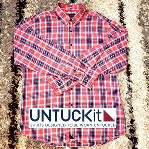 UNTUCKit casual button up shirt